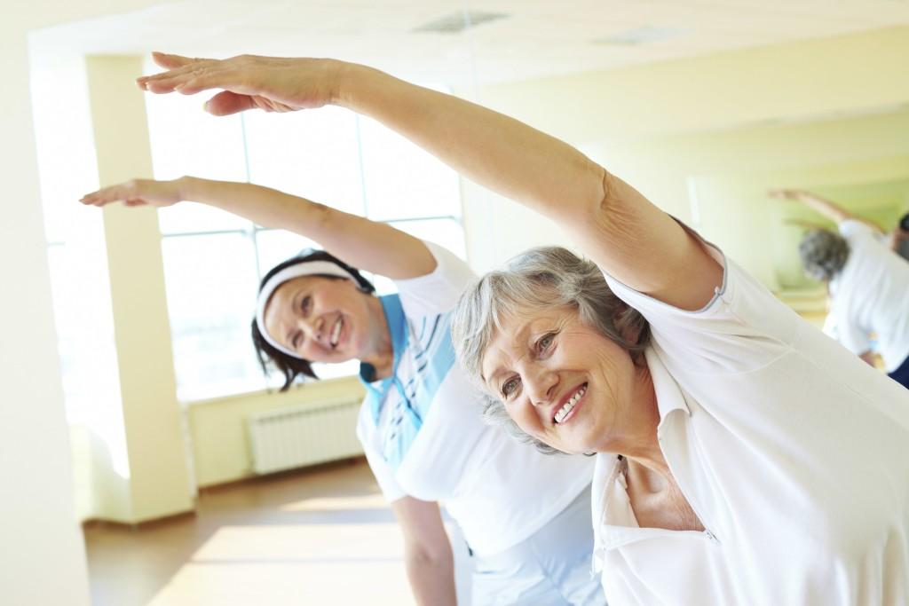 energici e sciolti ginnastica over 60
